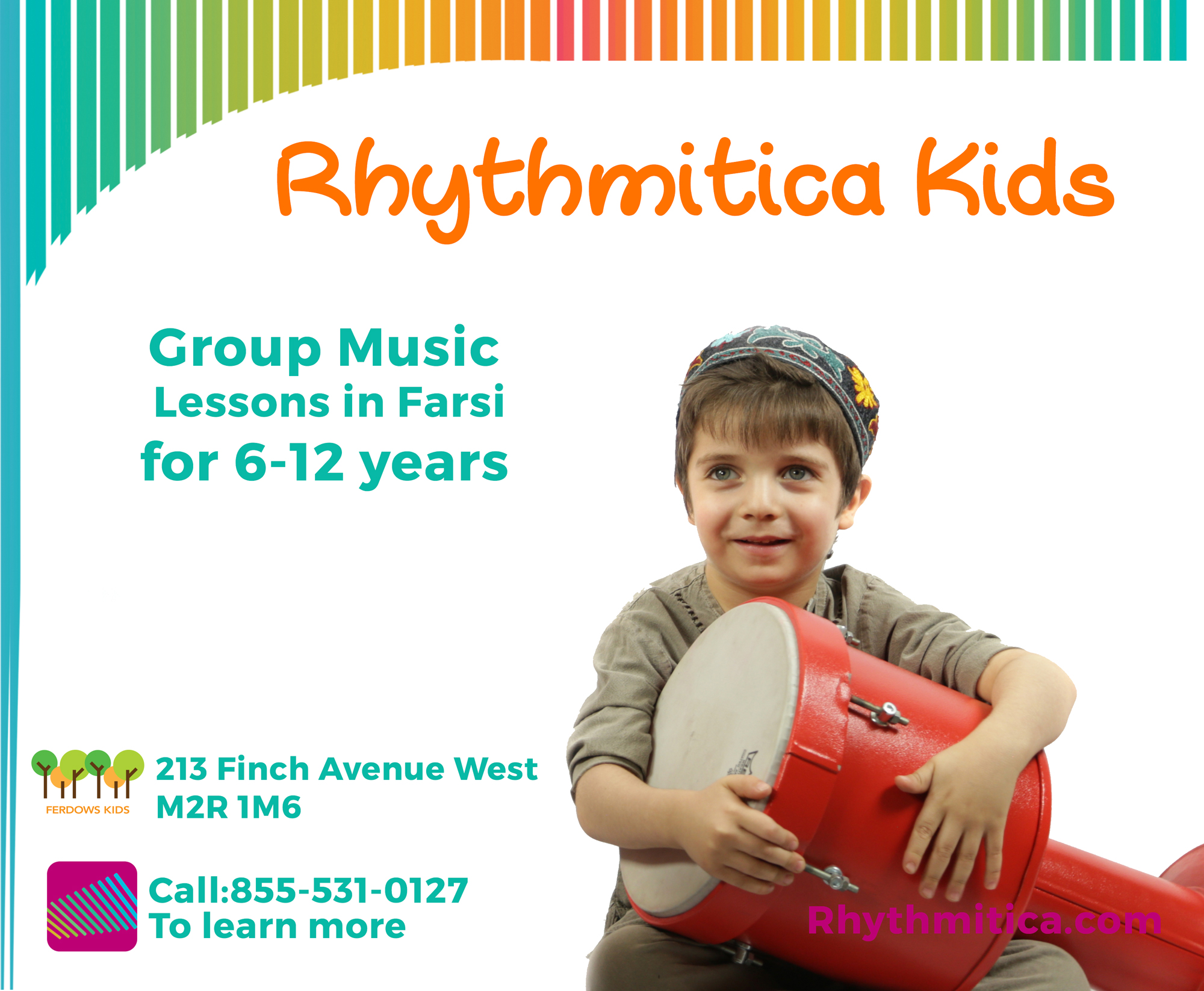 Rhythmitica Kids Music Lessons in Toronto